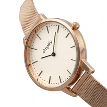Load image into Gallery viewer, Simplify The 5800 Mesh Bracelet Watch - Rose Gold/White - SIM5805
