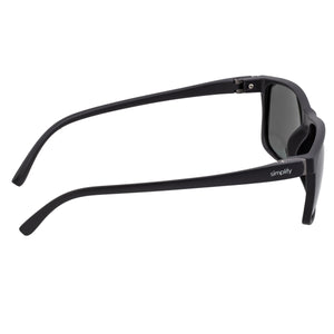 Simplify Ellis Polarized Sunglasses - Gloss Black/Black - SSU123-BK