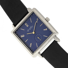 Load image into Gallery viewer, Simplify The 5000 Leather-Band Watch - Black/Blue - SIM5002