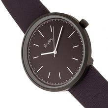 Load image into Gallery viewer, Simplify The 3000 Leather-Band Watch - Plum - SIM3006