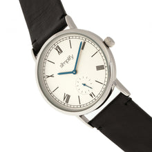 Load image into Gallery viewer, Simplify The 5100 Leather-Band Watch - Black/White - SIM5101
