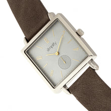 Load image into Gallery viewer, Simplify The 5000 Leather-Band Watch - Charcoal/Grey - SIM5006