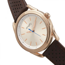 Load image into Gallery viewer, Simplify The 5900 Leather-Band Watch - Rose Gold/Brown - SIM5904
