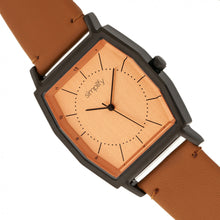 Load image into Gallery viewer, Simplify The 5400 Leather-Band Watch - Orange/Camel  - SIM5406