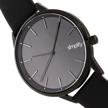 Load image into Gallery viewer, Simplify The 6700 Series Strap Watch - Black - SIM6707