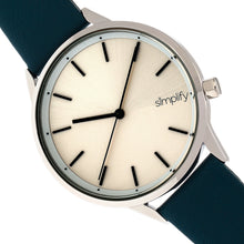 Load image into Gallery viewer, Simplify The 6700 Series Strap Watch - Teal/Silver - SIM6702
