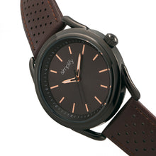Load image into Gallery viewer, Simplify The 5900 Leather-Band Watch - Black/Brown - SIM5905
