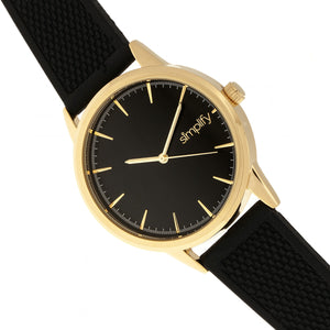 Simplify The 5200 Strap Watch - Gold/Black - SIM5203