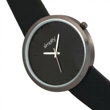 Load image into Gallery viewer, Simplify The 6000 Strap Watch - Gunmetal/Black - SIM6003