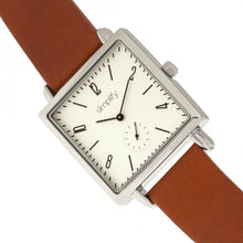 Load image into Gallery viewer, Simplify The 5000 Leather-Band Watch - Brown/White - SIM5003