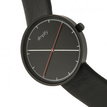 Load image into Gallery viewer, Simplify The 4100 Leather-Band Watch - Black - SIM4101