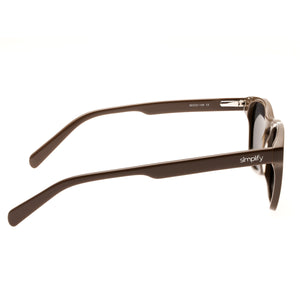Simplify Bennett Polarized Sunglasses - Brown/Black - SSU106-BN