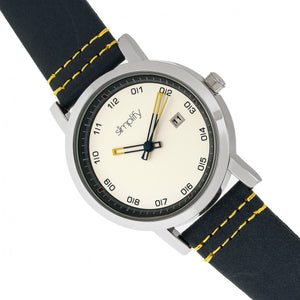 Simplify The 5300 Strap Watch - Silver - SIM5301