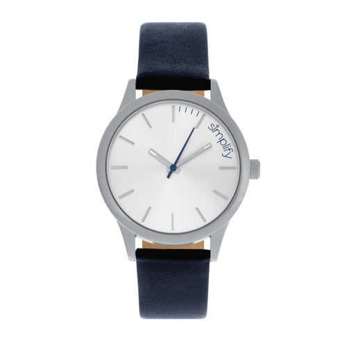 Simplify The 2400 Leather-Band Unisex Watch - SIM2406