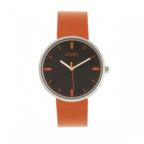 Simplify The 4500 Leather-Band Watch - SIM4503