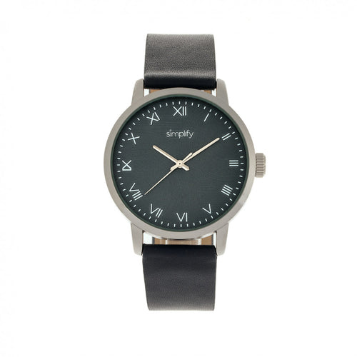 Simplify The 4200 Leather-Band Watch - SIM4204