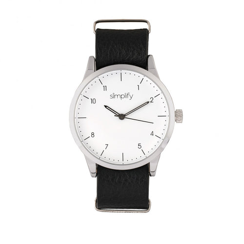 Simplify The 5600 Leather-Band Watch - SIM5601