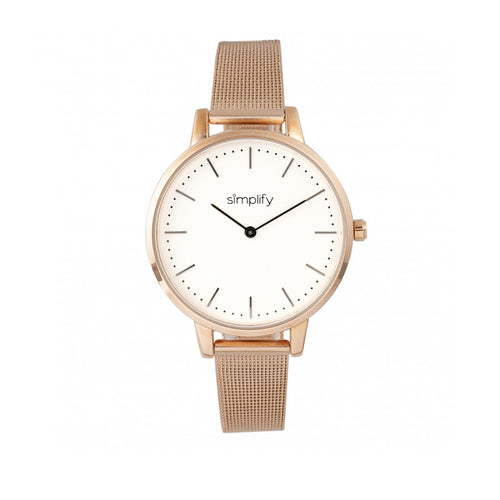Simplify The 5800 Mesh Bracelet Watch - SIM5805