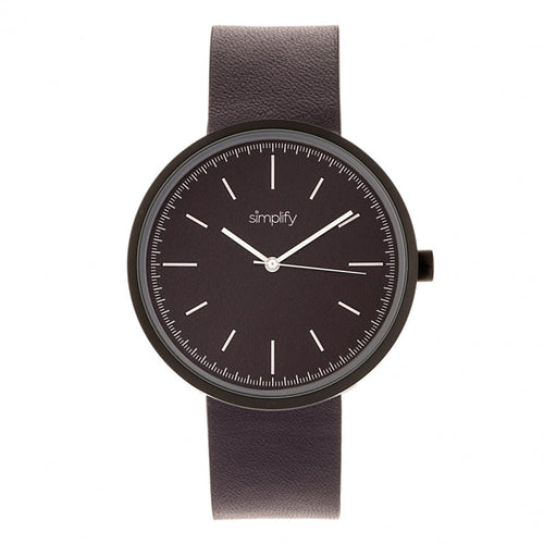 Simplify The 3000 Leather-Band Watch - SIM3006