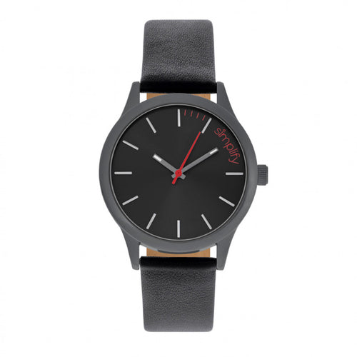Simplify The 2400 Leather-Band Unisex Watch - SIM2404