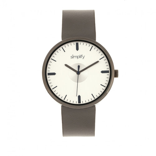 Simplify The 4500 Leather-Band Watch - SIM4504