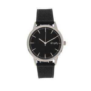 Simplify The 5200 Strap Watch - Silver/Black - SIM5202
