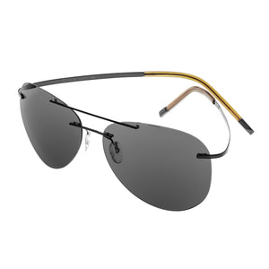 Simplify Sullivan Polarized Sunglasses - Black/Black - SSU113-BK