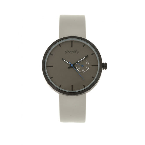Simplify The 3900 Leather-Band Watch w/ Date - SIM3903