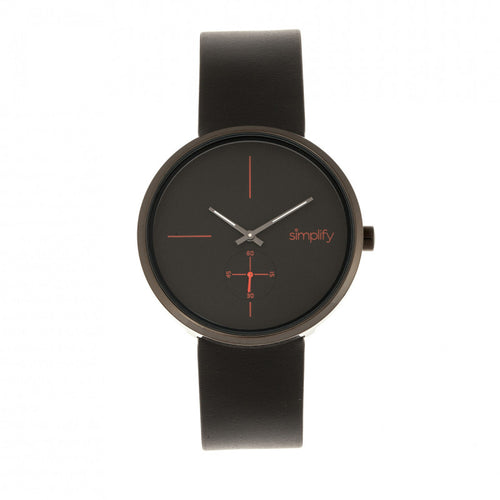 Simplify The 4400 Leather-Band Watch - SIM4404