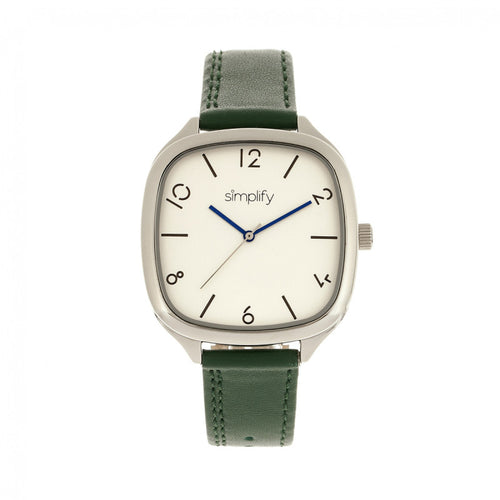 Simplify The 3500 Leather-Band Watch - SIM3504