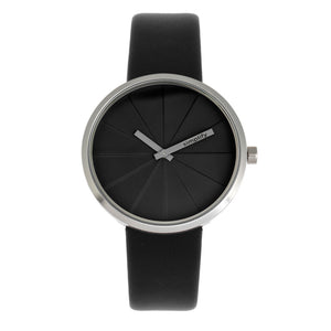 Simplify The 4000 Leather-Band Watch