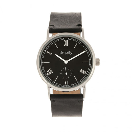 Simplify The 5100 Leather-Band Watch - SIM5102