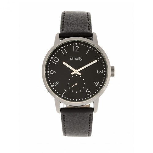 Simplify The 3400 Leather-Band Watch - SIM3402