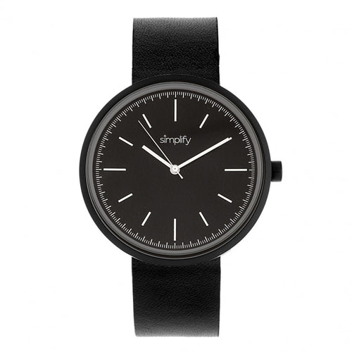 Simplify The 3000 Leather-Band Watch - SIM3001