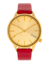 Load image into Gallery viewer, Simplify The 6700 Series Strap Watch - Red/Gold - SIM6706