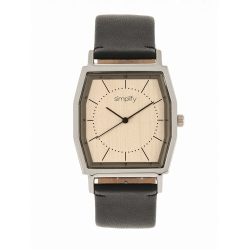 Simplify The 5400 Leather-Band Watch - SIM5403