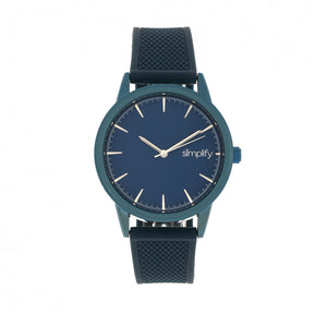 Simplify The 5200 Strap Watch - Navy - SIM5206