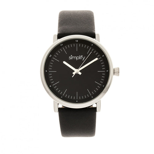 Simplify The 6200 Leather-Strap Watch - SIM6202