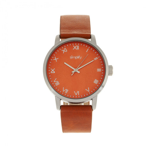 Simplify The 4200 Leather-Band Watch - SIM4203