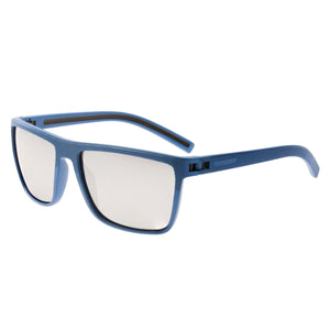 Simplify Dumont Polarized Sunglasses - Blue/Silver - SSU117-BL