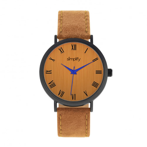 Simplify The 2900 Leather-Band Watch - SIM2907