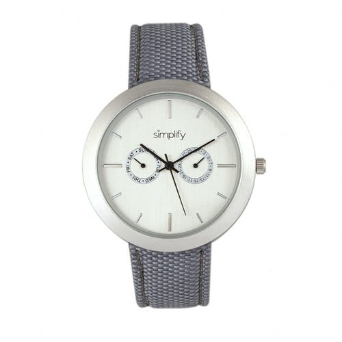 Simplify The 6100 Canvas-Overlaid Strap Watch w/ Day/Date - SIM6103