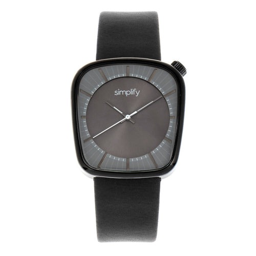 Simplify The 6800 Leather-Band Watch - SIM6804