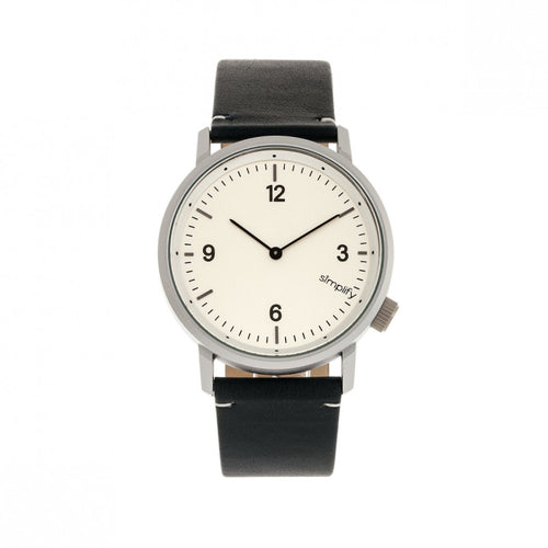 Simplify The 5500 Leather-Band Watch - SIM5501