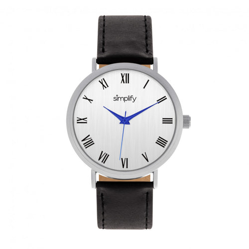 Simplify The 2900 Leather-Band Watch - SIM2901