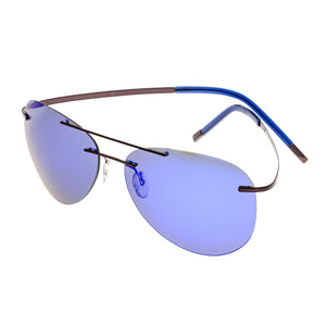 Simplify Sullivan Polarized Sunglasses - Brown/Purple-Blue - SSU113-BN