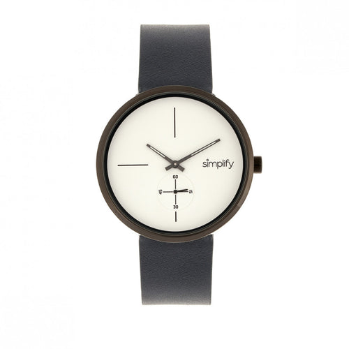 Simplify The 4400 Leather-Band Watch - SIM4403