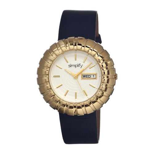 Simplify The 2100 Leather-Band Ladies Watch w/Date - SIM2103