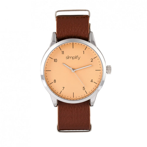 Simplify The 5600 Leather-Band Watch - SIM5604