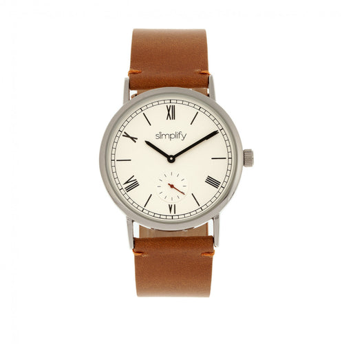 Simplify The 5100 Leather-Band Watch - SIM5105
